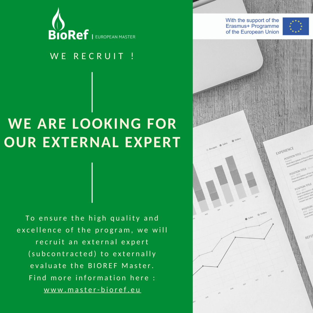 Become our external expert !